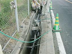 写真:中野歩道工事