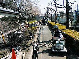 写真:歩道整備工事 幹-25号