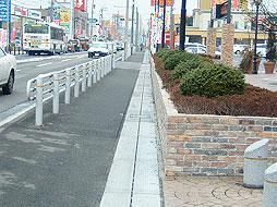 写真:1号日永地区舗装修繕工事