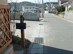 写真:道路補修工事