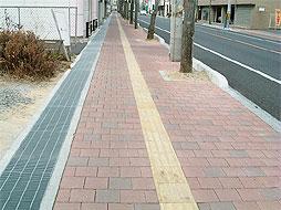 写真:中央井手本線交通安全施設整備工事