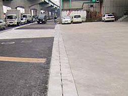 写真:平成16年度 22号中之郷道路整備工事