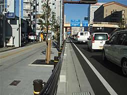 写真:平成18年度1号静岡駅前舗装修繕工事