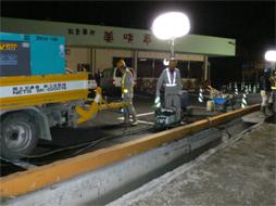 写真:福岡西維持管内交通安全施設工事